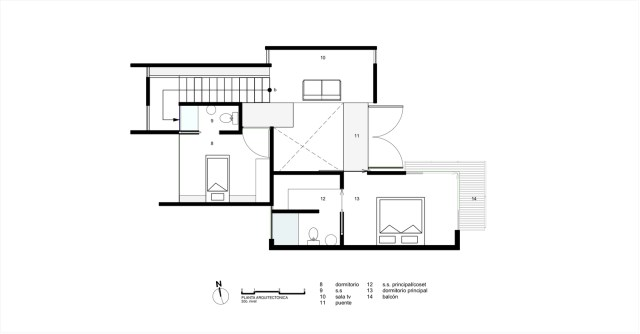 Two-storey Medium house Modernlofts Wood and cement (3)