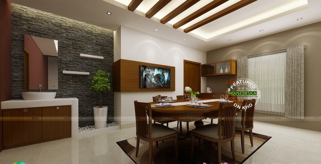 Two-story contemporary dignified tone shape and materials (2)