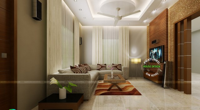 Two-story contemporary dignified tone shape and materials (4)