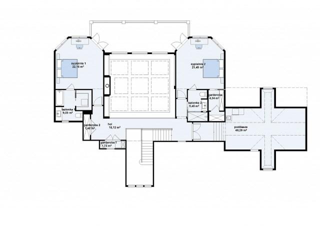 Two-story contemporary home decor 2 tone (5)