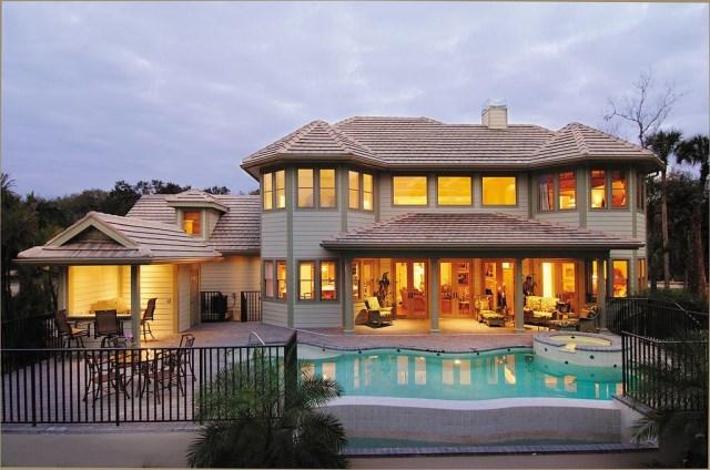 Two-story contemporary home decor 2 tone (7)
