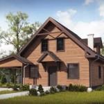 บ้านร่วมสมัยสองชั้น ตกแต่งด้วยไม้ทั้งหลัง แฝงความภูมิฐานแก่ตัวบ้าน