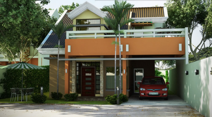 Two-story contemporary home modern design (1)