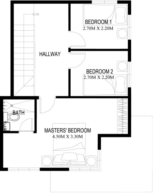 Two-story house Contemporary (2)