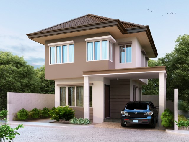 Two-story house Contemporary (3)