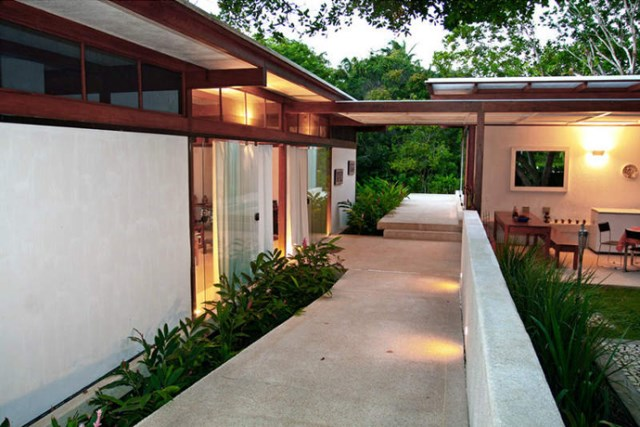 Villa Modern house resort mood materials of wood (10)