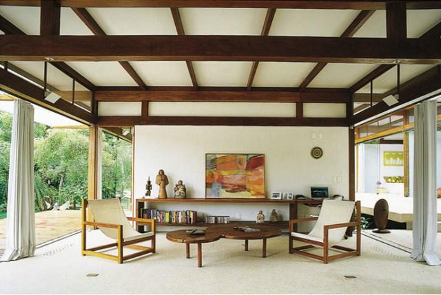 Villa Modern house resort mood materials of wood (12)