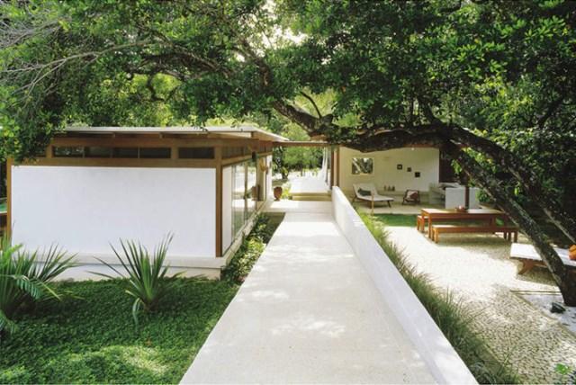 Villa Modern house resort mood materials of wood (13)