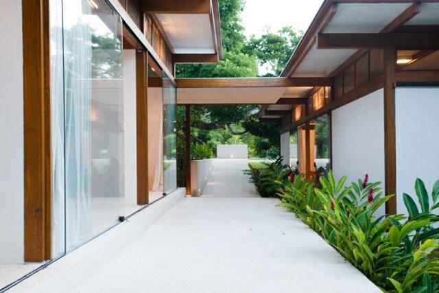 Villa Modern house resort mood materials of wood (5)