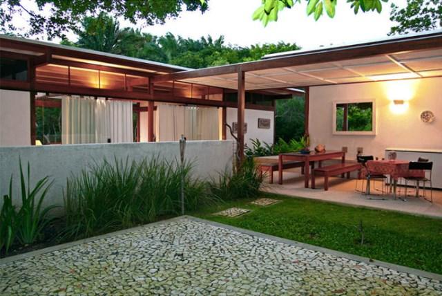 Villa Modern house resort mood materials of wood (9)