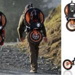 แบกก็ได้ ปั่นก็ดี!! มาดูจักรยานพับได้สำหรับปีนเขา ออกแบบเพื่อชาวแบ็คแพ็คเกอร์โดยเฉพาะ