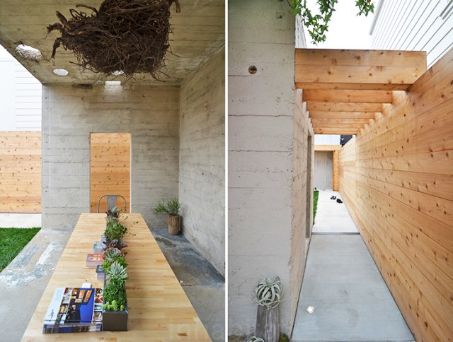 bunker concret home hides courtyard (5)