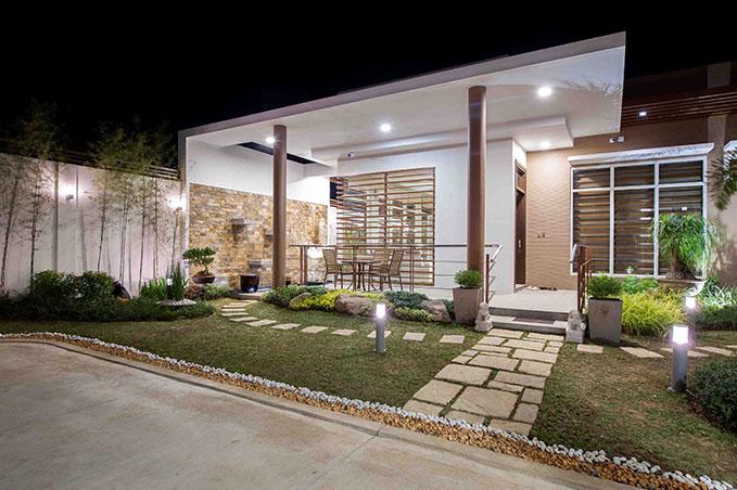 clean and sleek 1 floor minimal house (1)