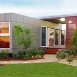 บ้านโมเดิร์นจากตู้คอนเทนเนอร์ เหมาะกับทำบ้านตากอากาศ รีสอร์ท ร้านกาแฟ และออฟฟิศ
