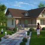บ้านเดี่ยวร่วมสมัย ขนาดเล็กกะทัดรัด ตกแต่งด้วยไม้ โดนใจคนไทย