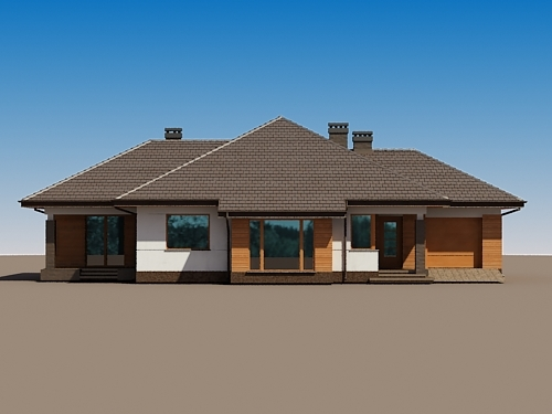 contemporary home 3 bedroom (4)
