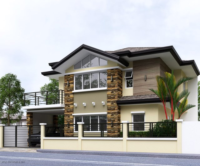 contemporary house sober color (1)