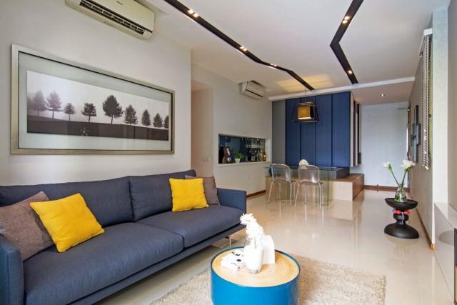contemporary two-storey house elegant shape (3)