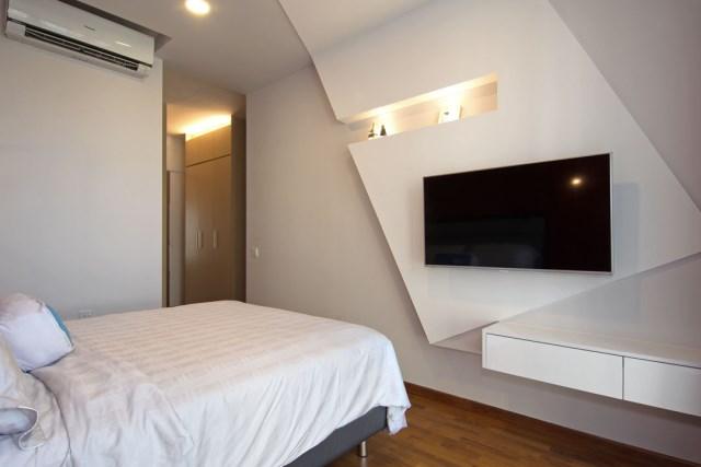 contemporary two-storey house elegant shape (5)