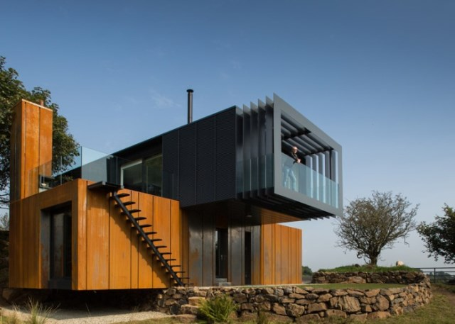farmhouse villa shapes and materials from nature (5)
