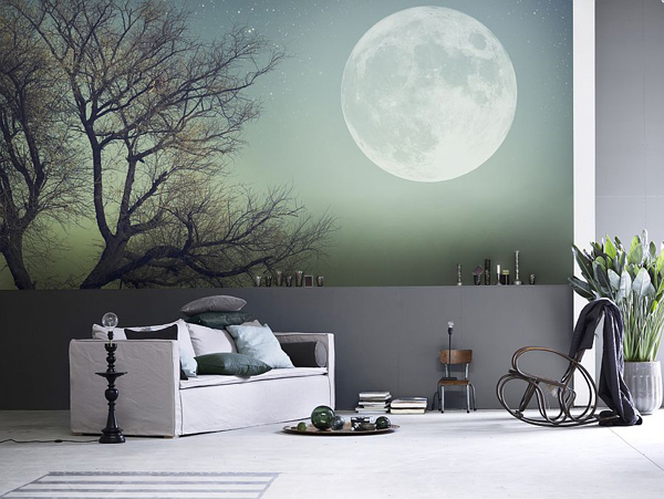 full-moon-wall-mural-ideas