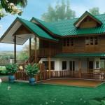 แบบบ้านสองชั้นทรงไทยประยุกต์ สวยแบบร่วมสมัย ในขนาดกำลังดี 3 ห้องนอน 2 ห้องน้ำ