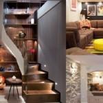 """สารพัดไอเดียออกแบบ """"ห้องใต้ดิน"""" ให้พื้นที่ใช้สอย คุ้มค่าทุกตารางนิ้ว"""