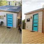 บ้านสตูดิโอขนาดเล็ก ในงบ 2 แสน เหมาะกับทำเป็นบ้านสวน ออฟฟิศ บ้านตากอากาศ