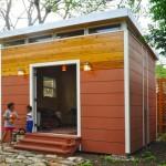 สตูดิโอขนาดเล็ก ตกแต่งด้วยไม้รูปทรงเรียบง่าย เหมาะกับทำเป็นบ้านสวน บ้านตากอากาศ