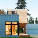 บ้านสองชั้นสไตล์โมเดิร์น วัสดุจากปูนเปลือย ไม้ และงานเหล็ก สวยงามบนความภูมิฐาน