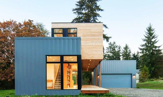 modern two-storey house cement Beautiful Vulgate (1)