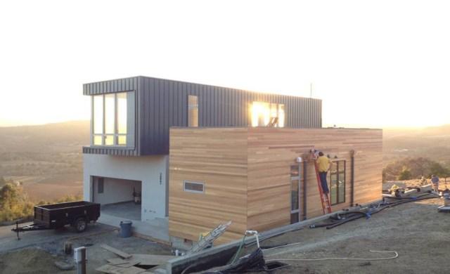 modern two-storey house cement Beautiful Vulgate (2)