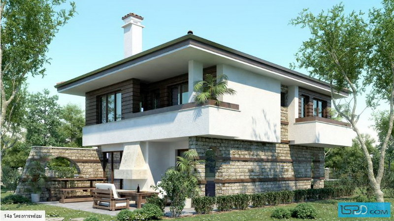 natural modern concrete house (1)