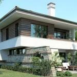 แบบบ้านสองชั้นทรงโมเดิร์น ดีไซน์แบบบ้านสวน ตอบโจทย์คนรักธรรมชาติ
