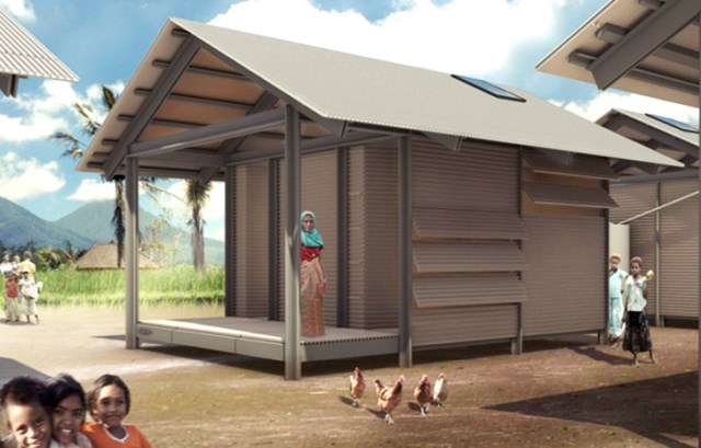 prefab recycled plastic cheap house (2)