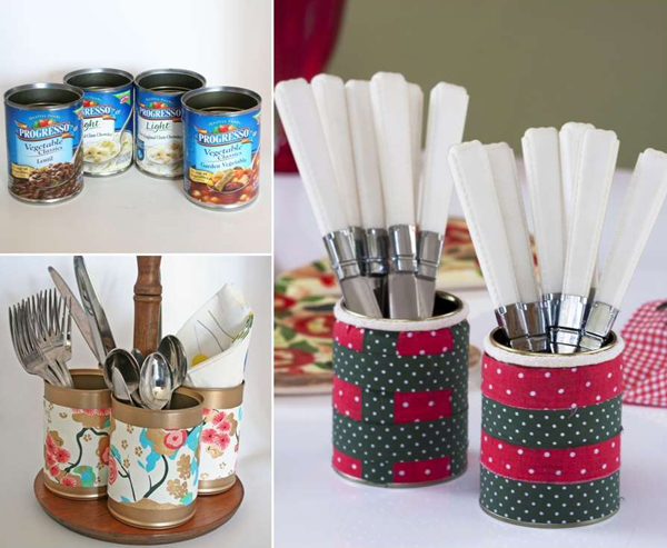 recycle-tin-cans-cutlery-storage