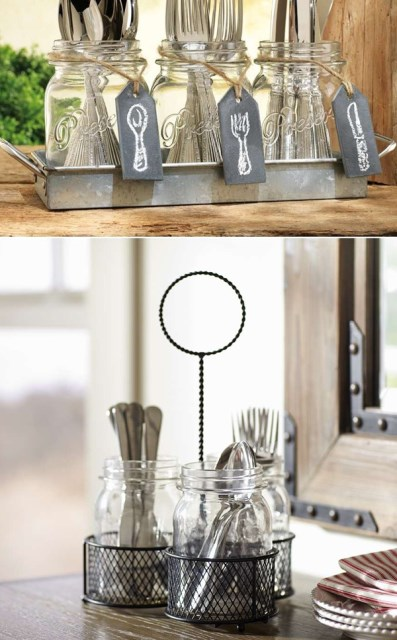 repurpose-mason-jars-flatware-storage