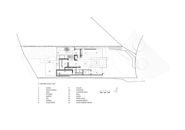 seaside villa House Modern shape and material (9)