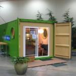 บ้านสตูดิโอจากตู้คอนเทนเนอร์ เหมาะที่จะทำเป็นออฟฟิศ หรือร้านกาแฟ