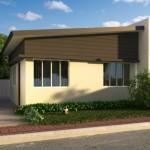 บ้านขนาดเล็กๆ 30 ตร.ม. ในงบ 4 แสนบาท ออกแบบเรียบง่าย รับครอบครับแรกเริ่ม