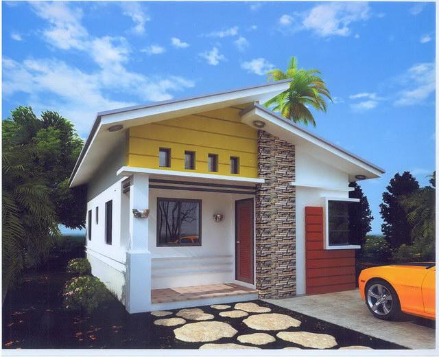 small white sand stone house (1)