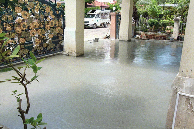 stamp concrete front yard review (9)