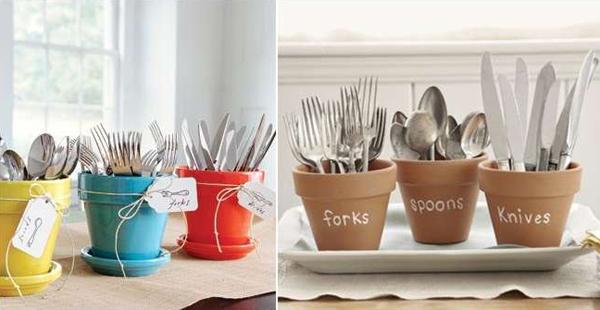 terracotta-pots-cutlery-storage-holders