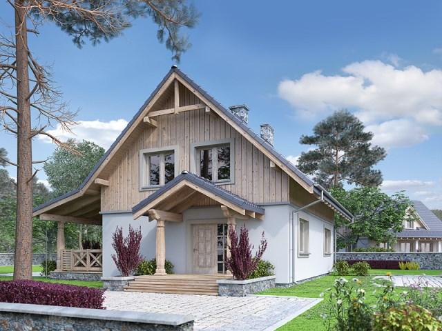 two-storey contemporary house With veranda and garden (3)