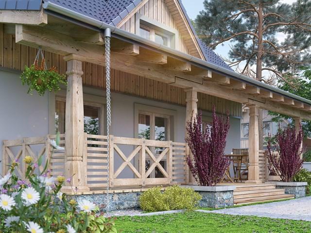 two-storey contemporary house With veranda and garden (4)