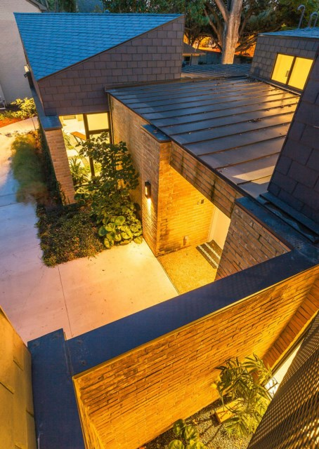 two-tone Modern house Decorative brick (12)