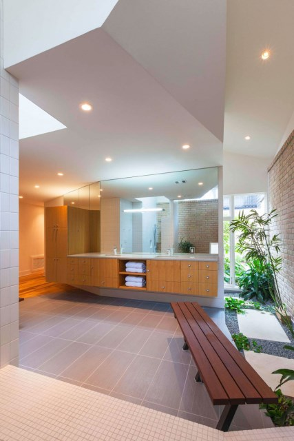 two-tone Modern house Decorative brick (13)