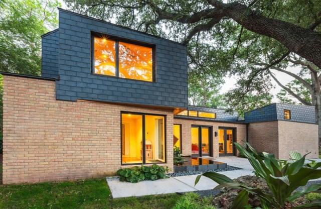 two-tone Modern house Decorative brick (3)