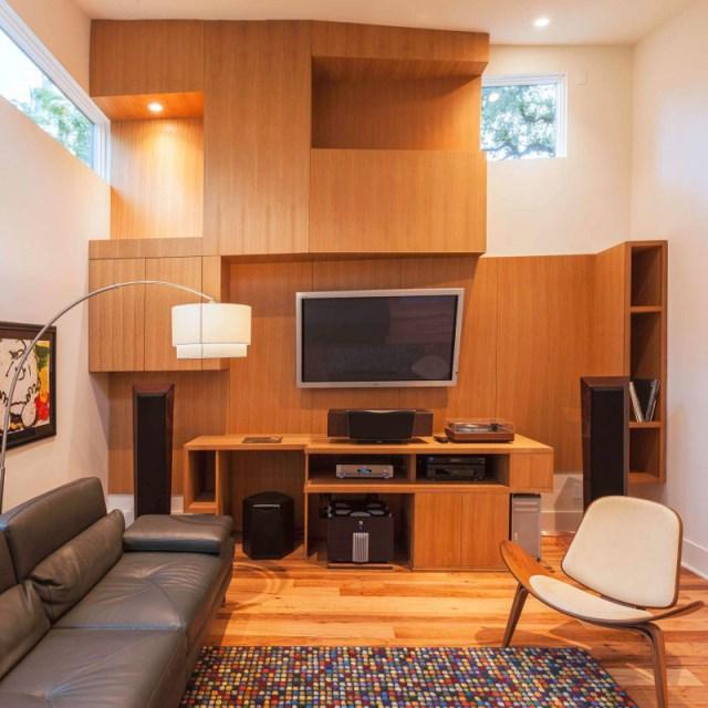 two-tone Modern house Decorative brick (5)