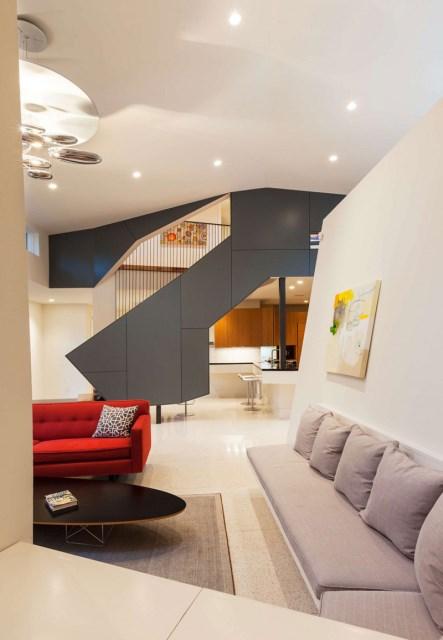 two-tone Modern house Decorative brick (6)